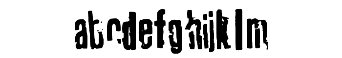 tablhoide Font LOWERCASE