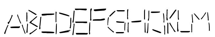 tacker Font UPPERCASE
