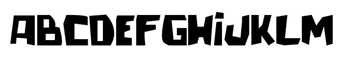 talacha Font UPPERCASE
