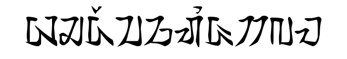 tamada - aksara sunda Font LOWERCASE