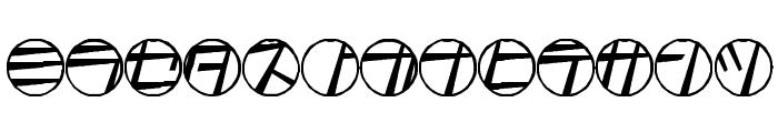 tamio qn6 Font LOWERCASE