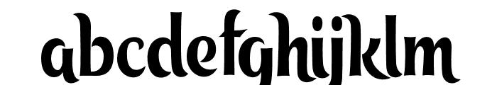 tangak Font LOWERCASE