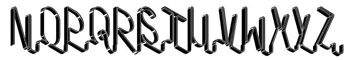 tape deck Font UPPERCASE