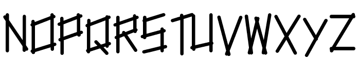 tapetype Font UPPERCASE