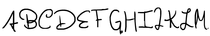 taylor swift Font UPPERCASE
