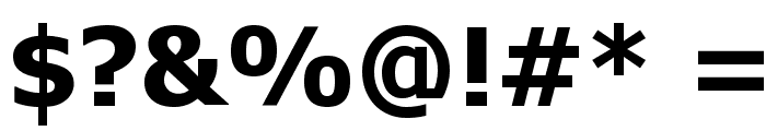 Tahoma Bold Font OTHER CHARS