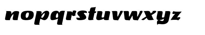 Tabarnak Regular Font LOWERCASE