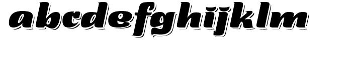 Tabarnouche Regular Font LOWERCASE