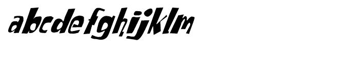 Tabitha Italic Font LOWERCASE