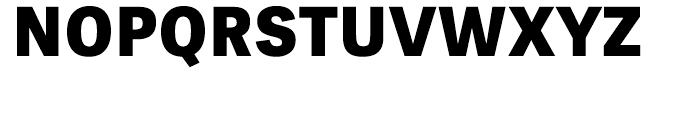 Tablet Gothic Extrabold Font UPPERCASE