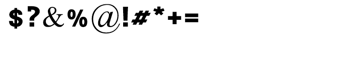 Tagmulim Black Font OTHER CHARS
