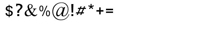 Tagmulim Medium Font OTHER CHARS