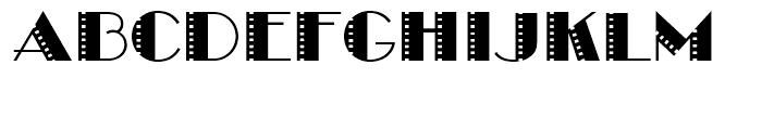 Take Two BF Regular Font UPPERCASE