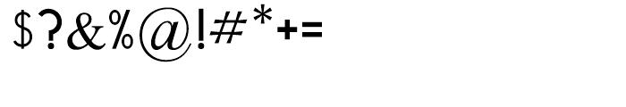 Tamir Regular Font OTHER CHARS