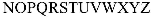 Tamir Regular Font UPPERCASE
