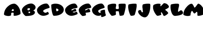 Tangerine Book Font UPPERCASE