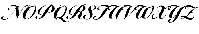 Tangier Black Font UPPERCASE