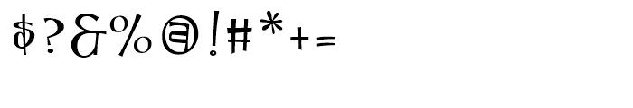 Tanked Regular Font OTHER CHARS