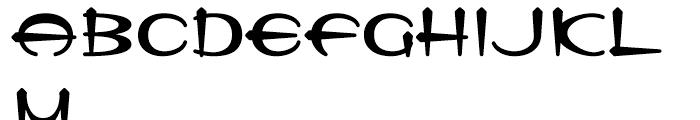 Tannarin BT Regular Font UPPERCASE