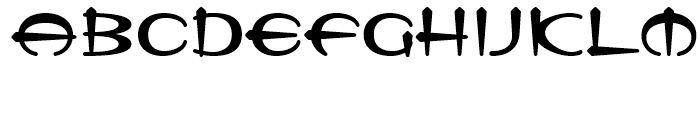 Tannarin BT Regular Font LOWERCASE