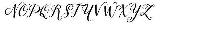 Tansy Regular Font UPPERCASE