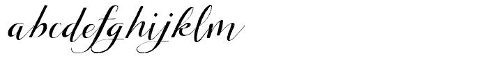 Tansy Regular Font LOWERCASE