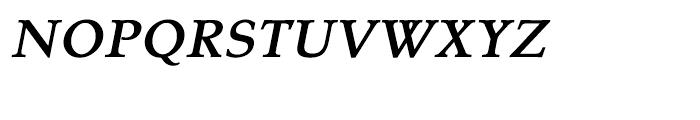 Tarocco Tarocco OSFOT Bold Italic Font UPPERCASE