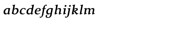 Tarocco Tarocco OSFOT Bold Italic Font LOWERCASE