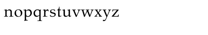 Tarocco Tarocco OSFOT Roman Font LOWERCASE