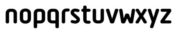 Tadao ExtraBold Font LOWERCASE