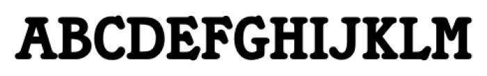 Tampa Regular Font UPPERCASE