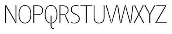 TangSCOSF UltraLight Font UPPERCASE