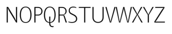 TangSCOSF UltraLight Font LOWERCASE