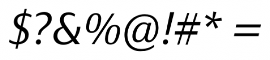 Taxon Light Italic Font OTHER CHARS