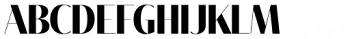 Tabac Big Glam Bold Font UPPERCASE