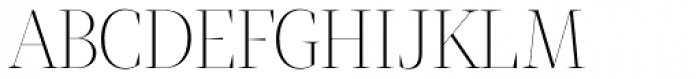 Tabac Big Thin Font UPPERCASE