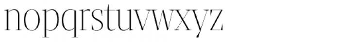 Tabac Big Thin Font LOWERCASE