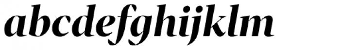 Tabac G1 Bold Italic Font LOWERCASE