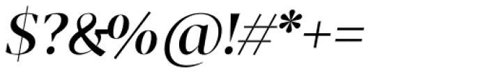 Tabac G1 Medium Italic Font OTHER CHARS