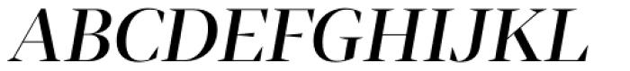 Tabac G1 Medium Italic Font UPPERCASE