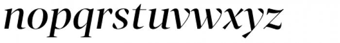 Tabac G1 Medium Italic Font LOWERCASE
