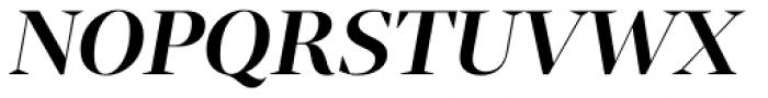 Tabac G1 SemiBold Italic Font UPPERCASE