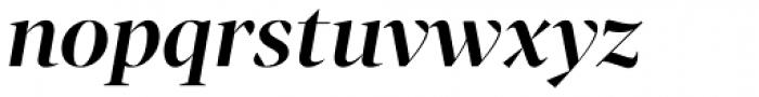 Tabac G1 SemiBold Italic Font LOWERCASE