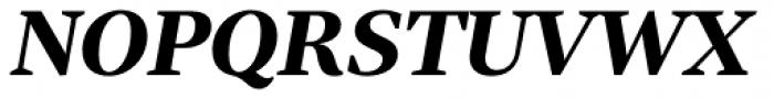 Tabac G2 Bold Italic Font UPPERCASE