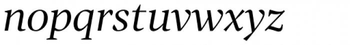 Tabac G2 Italic Font LOWERCASE
