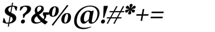 Tabac G2 SemiBold Italic Font OTHER CHARS