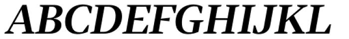 Tabac G2 SemiBold Italic Font UPPERCASE