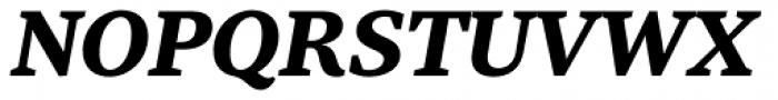 Tabac G3 Medium Bold Italic Font UPPERCASE