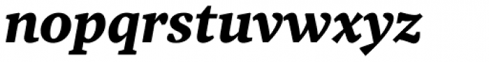 Tabac G3 Medium Bold Italic Font LOWERCASE