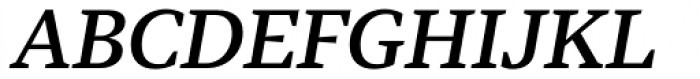 Tabac G3 Medium Italic Font UPPERCASE